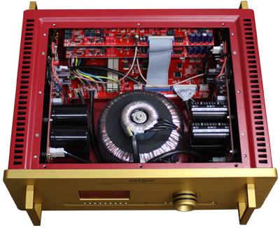 CTH-8550 hiendハイエンドステレオプリメインアンプ darTZeel ダールジール内部