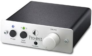 PreBox 小型オーディオコンポ ステレオプリアンプ Pro-JectAudio プロジェクト