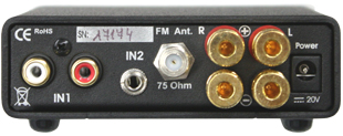 プリメインアンプ&FMチュ―ナー レシーバー 小型コンポ Pro-JectAudio プロジェクトオーディオ ReceiverBox