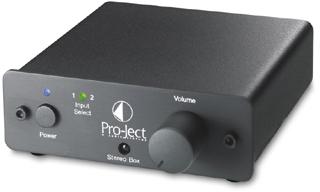 StereoBox ステレオボックス プリメインアンプ 小型コンポ Pro-JectAudio プロジェクトオーディオ