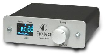 FMチューナー オーストリアの海外輸入小型オーディオコンポ Pro-JectAudio プロジェクトオーディオ Tuner Box