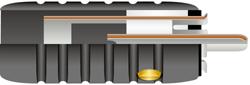 アルミコネクター オーディオインターコネクトケーブル シルバークラッドOFC接触 ワイヤーワールド