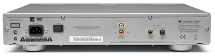 Azur350C CDプレーヤー イギリス ケンブリッジオーディオCambridgeAudio 背面構造