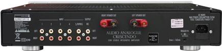 プリメインアンプ CRESCENDO INT クレッシェンド インテグレーテッドアンプ イタリア オーディオアナログ AudioAnalogue 内部