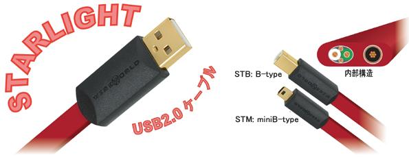 STARLIGHT  スターライト USB2.0ケーブル