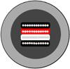インターコネクトオーディオケーブル バランスXLR アンバランスRCA WireWorld ワイヤーワールド