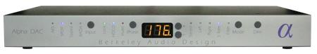 Alpha DAC DAコンバーター BerkeleyAudioDesign バークレーオーディオデザイン
