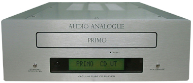 真空管CDプレーヤー イタリア オーディオアナログ PRIMO CDVT