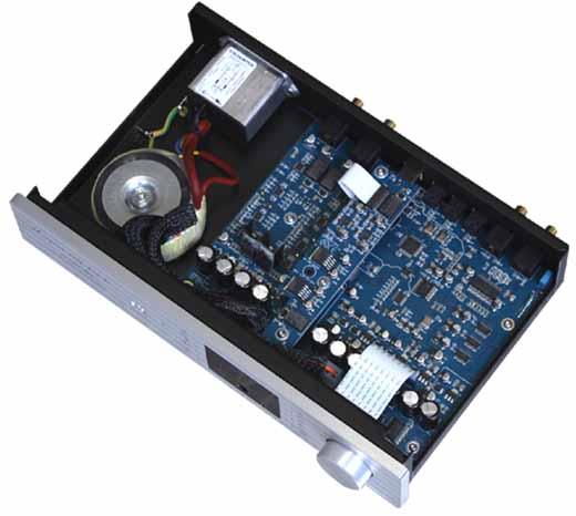 Essensio Plus エッセンシオプラス 192Hz/32bit USB DAC イタリア North Star Design ノーススターデザイン 内部構造