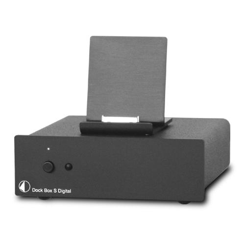 Dock box S Digital 小型ステレオコンポ Pro Ject Audio プロジェクトオーディオ ブラック