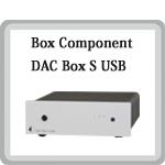 DAC Box S USB USB DAC 小型オーディオコンポ Pro-Ject Audio プロジェクトオーディオ オーストリア