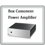 Amp Box S パワーアンプ 小型オーディオコンポ Pro Ject Audio プロジェクトオーディオ オーストリア