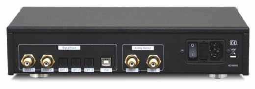 Essensio Plus エッセンシオプラス 192Hz/32bit USB DAC イタリア North Star Design ノーススターデザイン リア