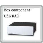 USB Box S USB DAC Pro Ject Audio プロジェクトオーディオ オーストリア