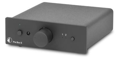 Pre Box S プリアンプ 小型オーディオコンポ プロジェクトオーディオ Pro-Ject Audio オーストリア