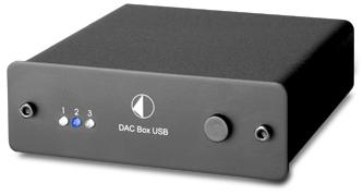 DAC BoxUSB USBDAC 小型オーディオコンポ Pro-Ject Audio プロジェクトオーディオ