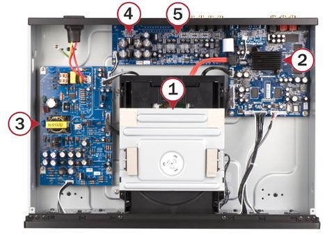 ユニバーサルディスクプレーヤー Blu-ray ブルーレイ SACD CambridgeAudio ケンブリッジオーディオ 内部
