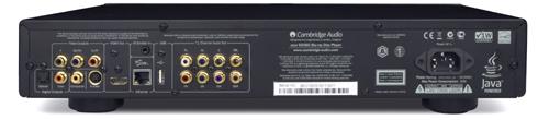 ユニバーサルプレーヤー Blu-ray ブルーレイ SACD ディスク CambridgeAudio ケンブリッジオーディオ リアパネル