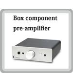 Pre Box S プリアンプ 小型オーディオコンポ Pro Ject Audio プロジェクトオーディオ オーストリア