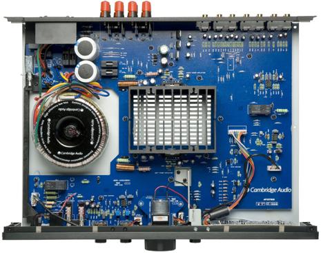 Azur350A プリメインアンプ インテグレーテッドアンプ イギリスロンドン ケンブリッジオーディオ CambridgeAudio 輸入オーディオコンポ 内部構造