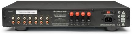 Azur350A プリメインアンプ インテグレーテッドアンプ イギリスロンドン ケンブリッジオーディオ CambridgeAudio 輸入オーディオコンポ 背面構造