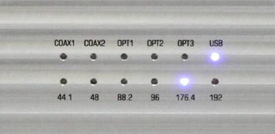 Esseisioエッセンシオ  192kHz/32bit USB DAC イタリア NorthStarDesign ノーススターデザイン フロントパネル