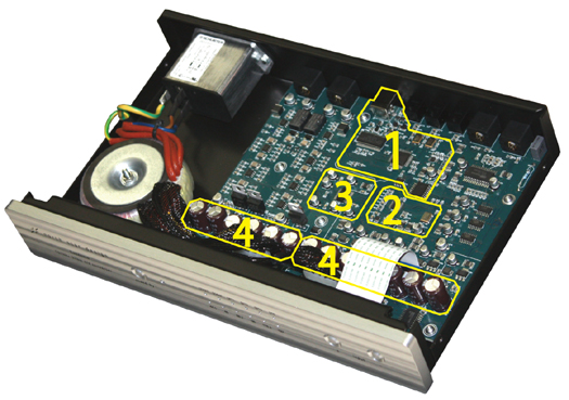 Esseisioエッセンシオ 192kHz/32bit USB DAC イタリア NorthStarDesign ノーススターデザイン 内部構造