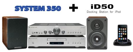 iPodドック iD50 イギリス ケンブリッジオーディオ CambridgeAudio システムオーディオコンポ