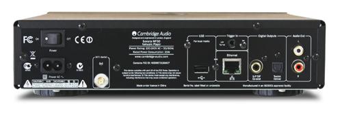 NP30 ネットワークオーディオプレーヤー イギリス Cambridge Audio ケンブリッジオーディオ バックパネル
