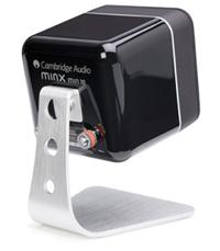 高音質小型スピーカー Minx ミンクス イギリス CambridgeAudio ケンブリッジオーディオ ライフスタイルコンセプト  サラウンドホームシアターオーディオ  スタイリッシュスピーカー minxサテライトスピーカー専用スピーカースタンド