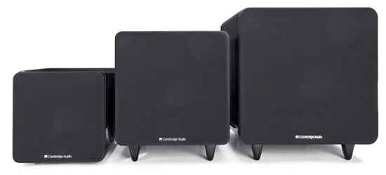 高音質小型サブウーファー Minx ミンクス イギリス CambridgeAudio ケンブリッジオーディオ ライフスタイルコンセプト  サラウンドホームシアターオーディオ  スタイリッシュスピーカーとの組み合わせ 背面構造 X200 X300 X500