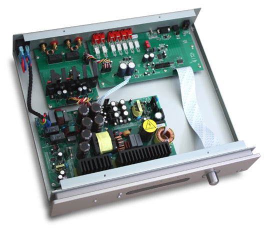 I22withDAC USBDAC搭載 インテグレーテッドアンプ 北ヨーロッパ PRIMARE 内部構造