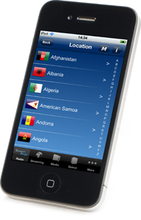 ストリームマジック リモート iphone4S