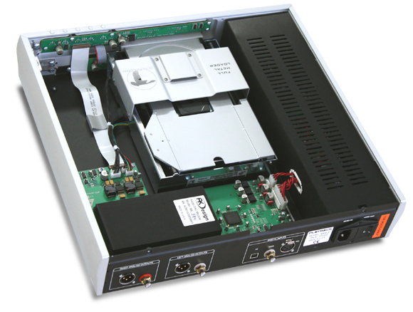 MPS-3 ハイエンドCDプレーヤー Playback Designs プレイバックデザインズ USB入力付属 384kHz/24bit DSD6.1MHzまで対応 内部構造