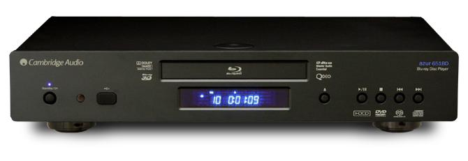 651BD 3D Blu-ray SACD ユニバーサルプレーヤー イギリス ケンブリッジオーディオ Cambridge Audio フロントパネル