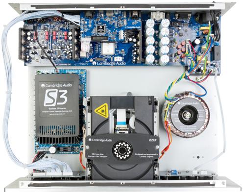 Azur851C 内部 384kHz24bit CDプレーヤー アップサンプリングDAC デジタルプリアンプ ケンブリッジオーディオ
