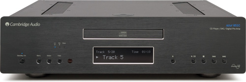 Azur851C 384kHz24bit DAC CDプレーヤー デジタルプリアンプ ケンブリッジオーディオ Cambridge Audio イギリス