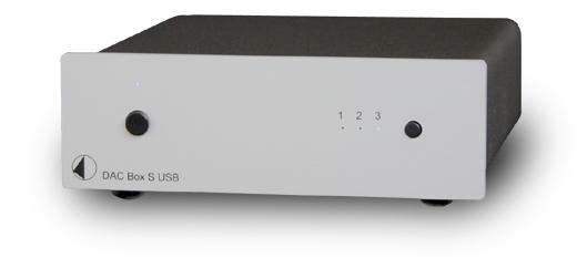 DAC Box S USB USB DAC 小型オーディオコンポ Pro-Ject Audio プロジェクトオーディオ