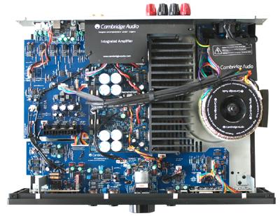 プリメインアンプ イギリス ケンブリッジオーディオ Cambridge Audio azur651A 内部