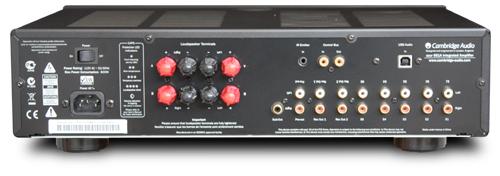 プリメインアンプ イギリス ケンブリッジオーディオ Cambridge Audio azur651A リアパネル