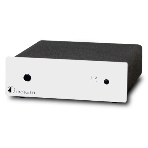 DAC Box S FL DAコンバーター 小型ステレオコンポ Project Audio プロジェクトオーディオ