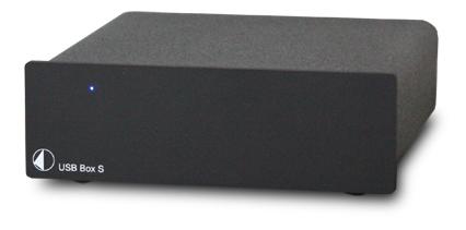 USB Box S USB DAC Pro Ject Audio プロジェクトオーディオ ブラック