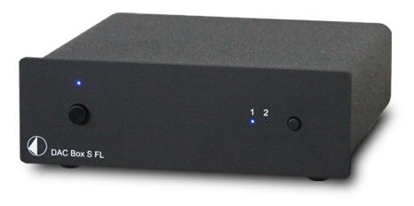 DAC Box S FL DAコンバーター Pro ject Audio プロジェクトオーディオ ブラック