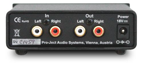 Head Box S ヘッドフォンアンプ ミニコンポ Pro Ject Audio プロジェクトオーディオ リア
