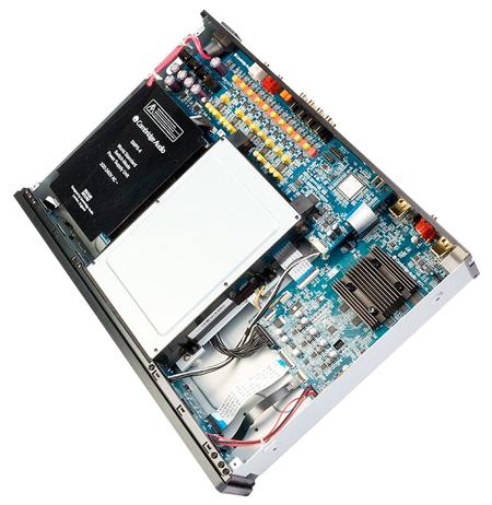 Azu752BD 3D/4K出力対応Blu-rayユニバーサルプレーヤー ケンブリッジオーディオ イギリス 内部画像