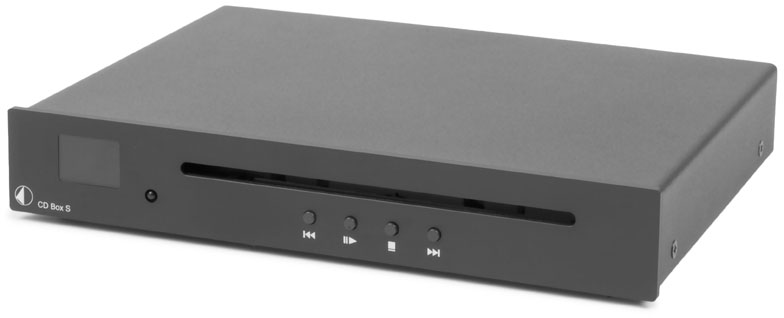 Pro-ject Audio CD Box S BLK Black CD Player