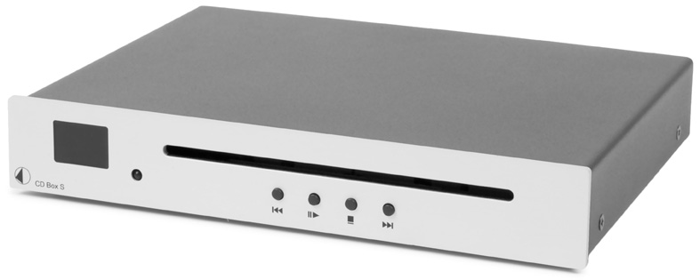 Pro-ject Audio CD Box S SLV Silver CD Player