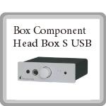 Head Box S USB  ヘッドフォンアンプ Pro-JectAudioプロジェクトオーディオ