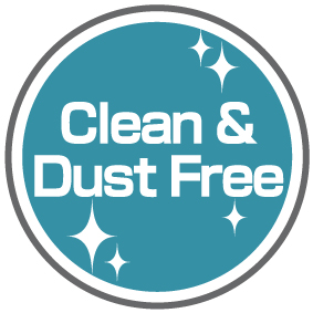 Clean Material &  Dust Free Factory