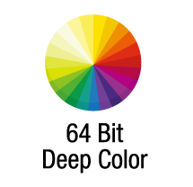 64bit Deep Color